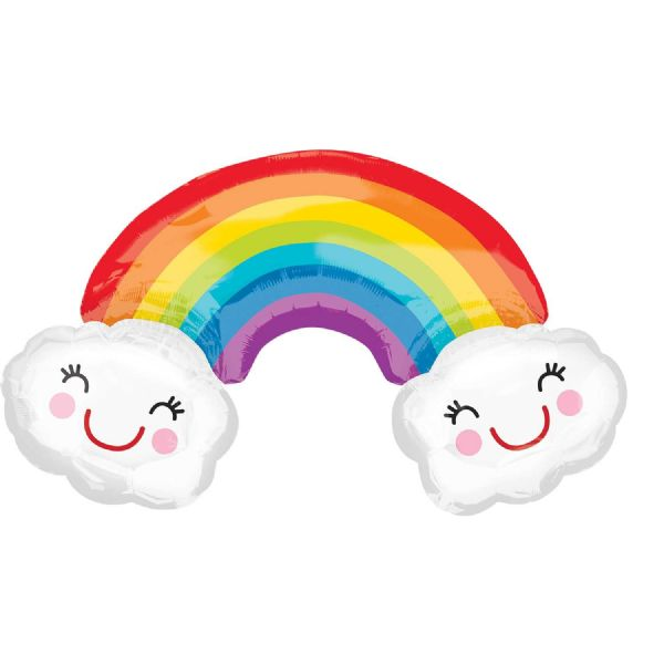 Rainbow with Clouds SuperShape™